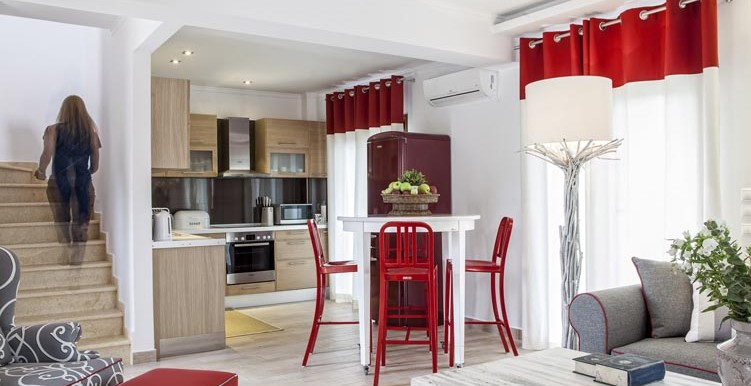 Villa-Daphne-Living-Room-Kitchen