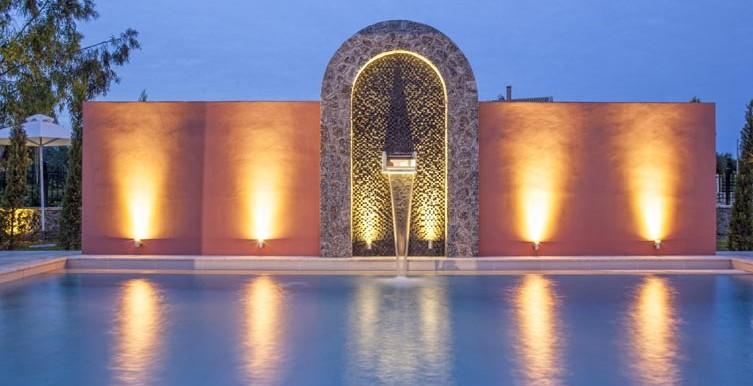 Villa-Daphne-Swimming-Pool-with-Night-Lights